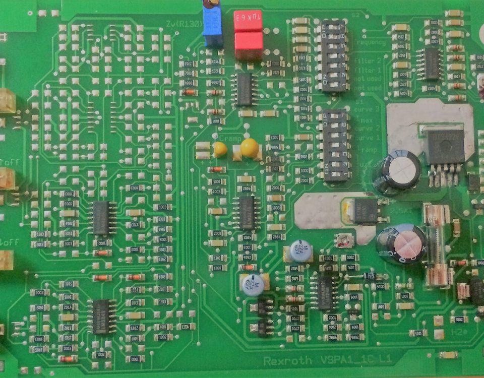reparación de tarjeta electrónica